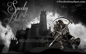 techno halloween background scary halloween desktop themes