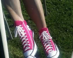 pattern crochet converse slippers crochet converse etsy
