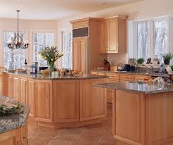 kitchen with light maple cabinets light maple cabinets in kitchen kitchen craft cabinetry