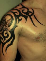 tribal tattoo designs for upper arm men 3d pictures gallery