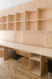Plywood Design Real Terms The Authentic Approach Of Architects Carmody Groarke