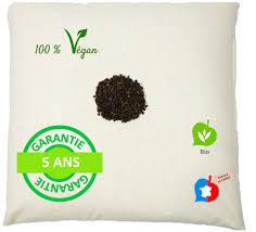 serviette de toilette bio oreiller naturel sarrasin bio et coton bio le ferme cocarde verte