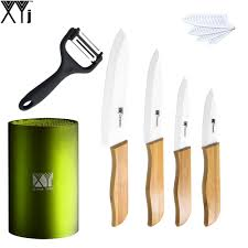 Best Kitchen Knives Set Compare Prices On Bamboo Knife Handle Online Shopping Buy Low