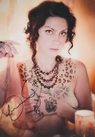danielle colby cushman pickers tattoos signed