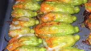 ricette con fiori di zucchina al forno fiori di zucca ripieni al forno ricette bimby