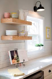 Hanging Upper Kitchen Cabinets by Best 10 Floating Shelves Kitchen Ideas On Pinterest Open