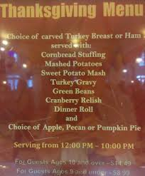 original thanksgiving dinner menu easy disney world thanksgiving dinner keith barrett online
