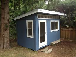 north vancouver backyard office westcoast outbuildings