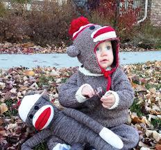 Toddler Costume Sock Monkey Costumes For Men Women Kids Parties Costume