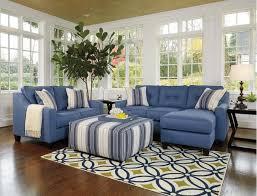 Cheap Blue Sofa Striped Sofa And Loveseat Centerfieldbar Ashley Furniture Blue