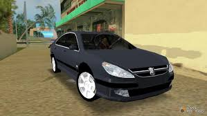 peugeot 607 coupe 607 v6 for gta vice city