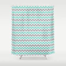 Turquoise And Grey Shower Curtain Curtains Ideas Orange And Gray Shower Curtain Inspiring