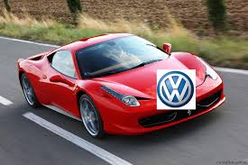 volkswagen supercar volkswagen group to buy ferrari shares photos 1 of 3
