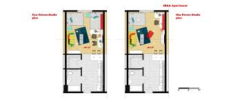 One Bedroom Apartment Floor Plans by Wonderful Studio Apartment Floor Plans Ideas Inside Decor