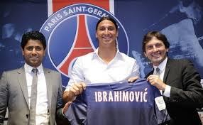 Ibrahimovic gabung PSG