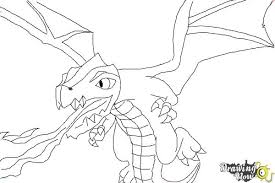 draw clash clans dragon drawingnow