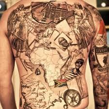 Map Tattoo Ideas 40 E Tantas Fotos Incríveis De Tatuagens Inspiradas Em Viagens