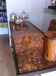 holla penny countertop at the bone house the bone house