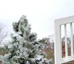how to flock a christmas tree kelley nan