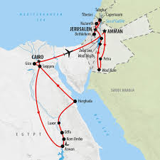 Where Is Dubai Located On The World Map by Jordan Tours Holidays To Jordan On The Go Tours