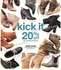 target s boots in store sneak peek target ad scan for 10 15 17 10 21 17 totallytarget