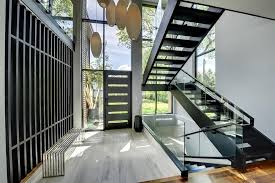 black staircase catchy front staircase design front staircase design entry