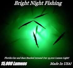 green blob fishing light reviews underwater fishing light 15 000 lumens green crappie submersible 300
