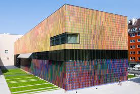 colorful building 12 amazingly colorful buildings virginia duran blog