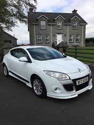 2010 renault megane 3 door coupe with factory fitted kit 1 6