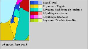 Israel Map 1948 Arab Israeli War 1948 1949 Every Day Youtube