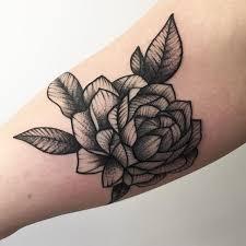 black rose tattoo by rebecca vincent