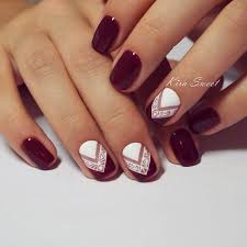 best 25 burgundy nail designs ideas on pinterest burgundy matte