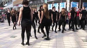 st u0027 patrick u0027s day flashmob mercator ljubljana youtube