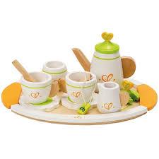 jeux de cuisine service service dinette en bois achat vente jeux et jouets pas chers