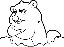 Groundhog Coloring Pages Cpage Me Groundhog Color Page