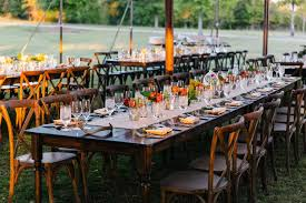 wedding table rentals atlanta farmhouse table rental goodwin events