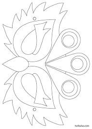 masque à imprimer en noir et blanc à colorier puis découper