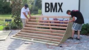 quarter pipe back on board backyard ideas