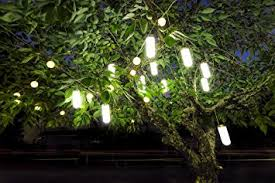 Solar Lights Patio by Amazon Com Hanging Solar Garden Tree Light Waterproof Solar