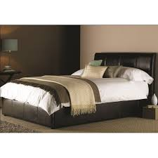cheap harmony milan faux leather ottoman bed for sale