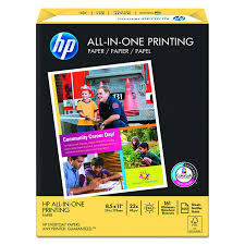 What Size Paper Are Blueprints Printed On by Amazon Com Hp Paper All In One Printing Paper Poly Wrap 22 Lb