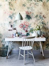 Modern Floral Wallpaper Wallpaper And Fabric Inspiration For Summer Florals Are Back