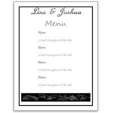 menu template word free menu template 21 free word pdf documents