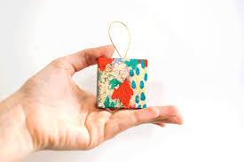 eclectic ornaments of diy miniature abstract ornaments