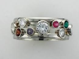 family ring best 25 family ring ideas on stackable birthstone