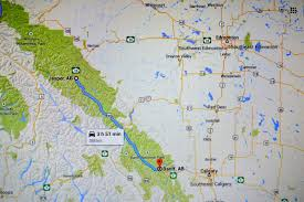 Banff National Park Map Deciding Between Banff And Jasper