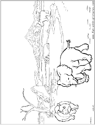 african safari animals coloring pages