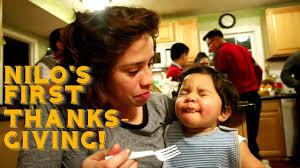 baby s turkey thanksgiving hispanic family vlog 2016