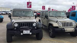gobi jeep jeep jku mojave sand vs gobi walkaround youtube