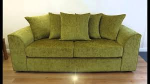 dylan green chenille sofas youtube